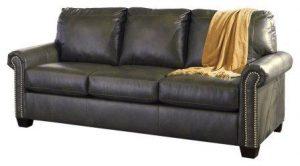 Ashley Furniture Signature Design – Lottie Sleeper Sofa – Queen Size – Slate