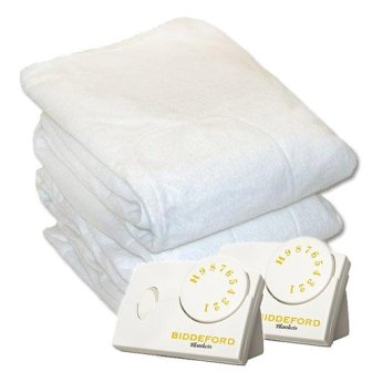 Biddeford 5902-908221-100 Electric Heated Mattress Pad