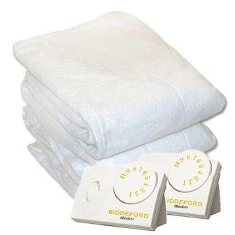 Biddeford 5902-908221-100 Electric Heated Mattress Pad