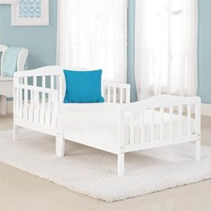 Big Oshi Contemporary Design Toddler & Kids Bed – White