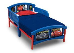 Delta Children Plastic Toddler Bed, DisneyPixar Cars
