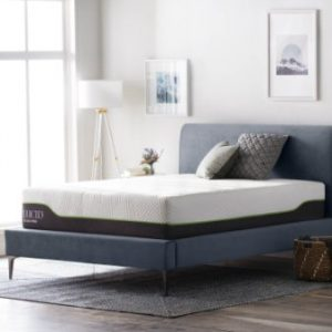 LUCID 12 Inch King Latex Hybrid Mattress – Memory Foam