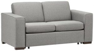 Rivet Elliot Easy-Pull Modern Sofa Bed, 71″W, Grey