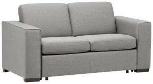 Rivet Elliot Easy-Pull Modern Sofa Bed, 71″W, Grey