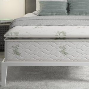 Signature Sleep Signature 13 Inch Independently Encased Coil Pillow Top Mattress