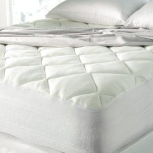 Spa Luxury Cool Touch Bamboo Plush Top Mattress Pad