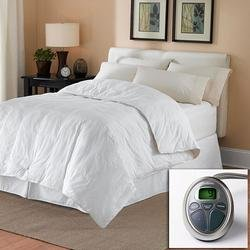 Sunbeam All Season Premium Queen Heated Mattress Pad with Two Heating Digital Controllers