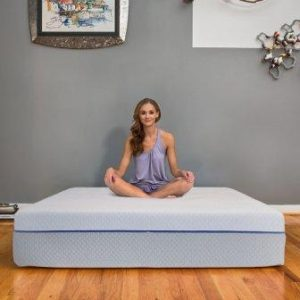 eLuxurySupply 12-Inch Gel Memory Foam and Latex Innerspring Hybrid Mattress