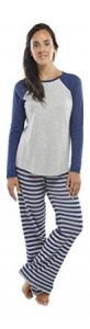 "jijamas Incredibly Soft Pima Cotton Women's Pajama Set ""The Soul Mate"""