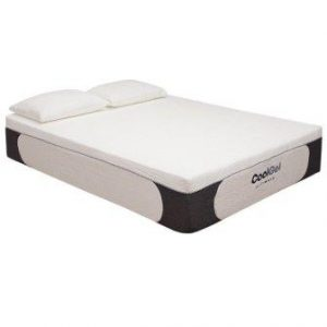 Classic Brands Cool Gel Ultimate Gel Memory Foam 14-Inch Mattress with BONUS 2 Pillows, California King