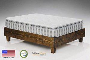 DreamFoam Bedding Ultimate Dreams Pillow Top Mattress