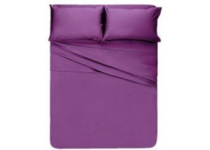Honeymoon 1800 Brushed Microfiber Bed Sheet Set, Ultra Soft