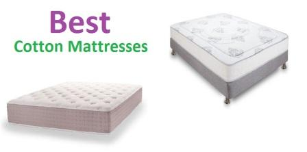 Top 10 Best Cotton Mattresses In 2018 Complete Guide