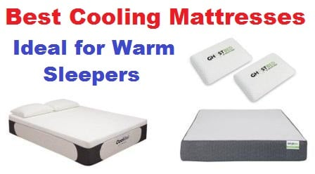 Top 15 Best Cooling Mattresses in 2018 (Ideal for Warm Sleepers!)