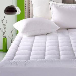 best pillow top mattress topper Top 15 Best Luxury Mattress Pads in 2019 best pillow top mattress topper