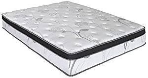 Olee Sleep 13 Inch Hybrid Gel Infused Memory Foam Innerspring Mattress