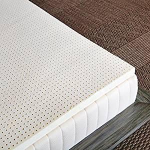 firm latex mattress topper Top 15 Best Latex Mattress Toppers in 2019 firm latex mattress topper