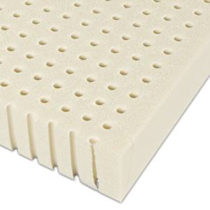 Serenia Sleep Dunlop Latex 2-Inch Easy Flip Mattress Pad Topper