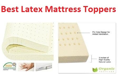 best latex mattress topper Top 15 Best Latex Mattress Toppers in 2019 best latex mattress topper