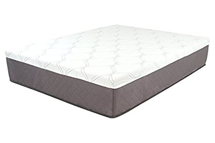 DreamFoam Mattress Ultimate Dreams 13-Inch Gel Memory Foam Mattress, Twin X-Long