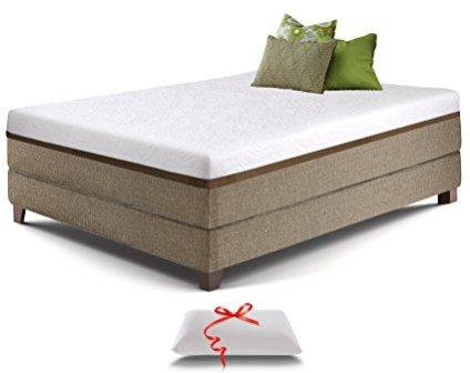 Live and Sleep Resort Ultra Twin Size 12-inch Cooling Gel Memory Foam Mattress