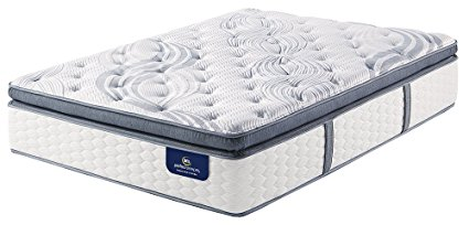 Serta Perfect Sleeper Elite Plush Super Pillow Top 700 Innerspring Mattress, Queen
