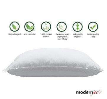Adjustable and Hypoallergenic Waterbase Pillow by Modern Joe's
