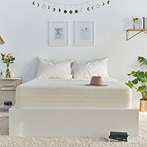 Brentwood Home Cypress Mattress, Bamboo Derived Rayon Cover