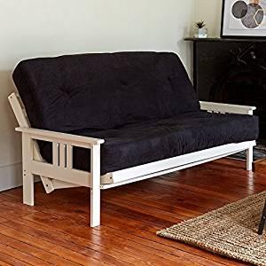 Classic Brands Classic Black 8-inch futon mattress, Full