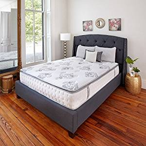 Classic Brands Mercer Pillow Top Cool Gel Memory Foam and Innerspring Hybrid 12-Inch Mattress, King