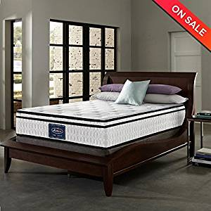 LCH 10 Inch Queen Latex Hybrid Mattress – Gel Memory Foam Simmons Mattress