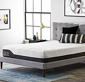 LUCID 12 Inch King Hybrid Mattress