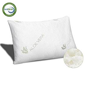 Meeracula Memory Foam Pillows infused with Aloe Vera