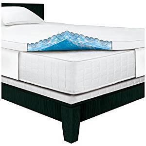 Serta Rest – Queen – 3 Inch Gel Memory Foam Mattress Topper