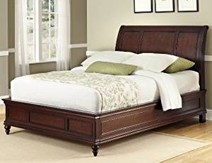 The Home Styles Lafayette King Sleigh Bed