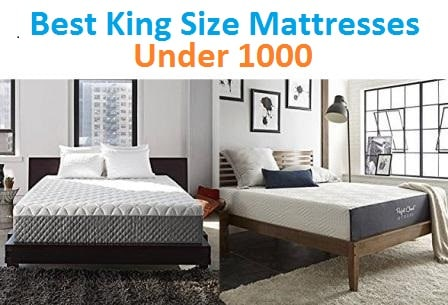 Best King Size Mattresses Under 1000