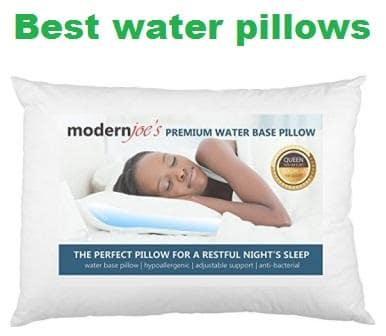 Best water pillows