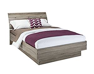 Tvilum 76200/13cj Scottsdale Bed with Slats, Queen, Truffle