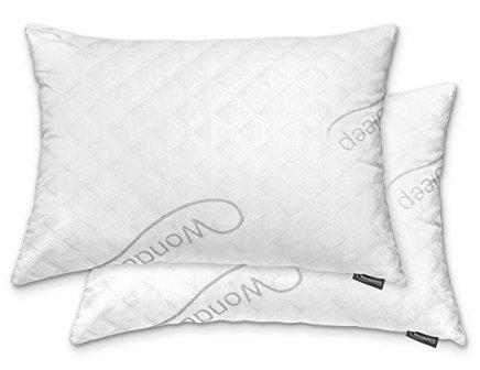 Wondersleep PREMIUM Queen Size Pillow – A Set of Two