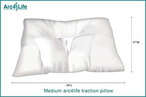 Arc4life CLTraction Cervical Traction Pillow for Neck Pain Relief