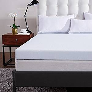 Comfort & Relax 3″ Gel Memory Foam Mattress Topper with Washable Cover