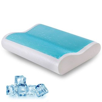 Comfort & Relax HK-C-01 Cool Gel Memory Foam Contour Pillow