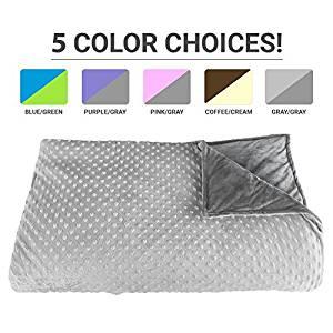 Deluxe CALMFORTER ™ Premium Weighted Blanket ecdac71d8