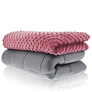 Sonno Zona Weighted Blanket Adult Size-For Heavy Stress Relief