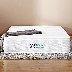 Sunrising Bedding 8-inch Natural Latex Mattress Queen Size Hybrid