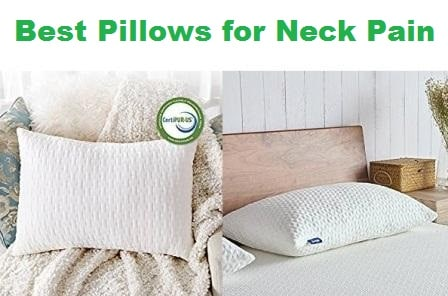 Top 15 Best Pillows for Neck Pain in 2018
