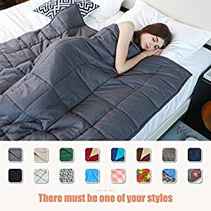 YnM Weighted Blanket (Queen Size), (Top Pick)
