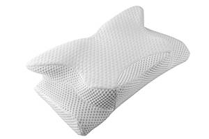 Coisum Orthopaedic Memory Foam Pillow, Cervical Pillow Contour Pillow for Neck and Shoulder Pain, Neck Support Pillow