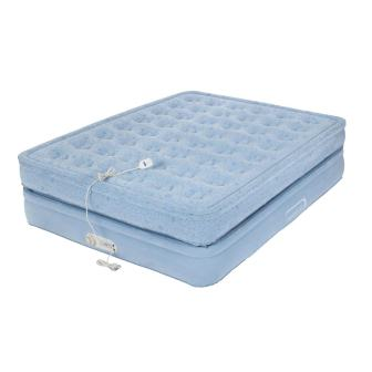 Coleman Aerobed Premium Mattress-Style Queen Air Bed with Built-in Pump