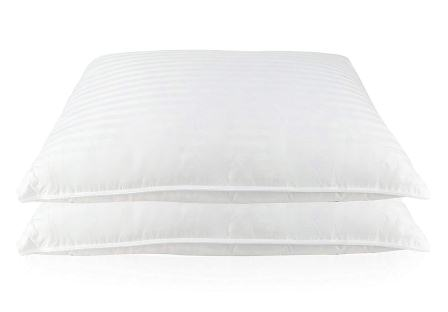 East Coast Bedding Luxury Goose Feather and Down Bed pillows